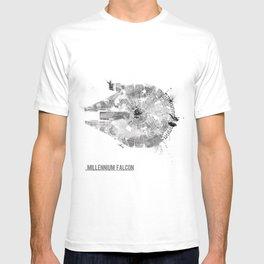 Star Wars Vehicle Millennium Falcon T-shirt