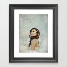 Masquerade in the Clouds Framed Art Print