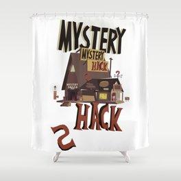 Mistery Shack Shower Curtain