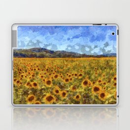 Vincent Van Gogh Sunflowers Laptop & iPad Skin