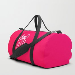 Hey badass   [gradient] Duffle Bag