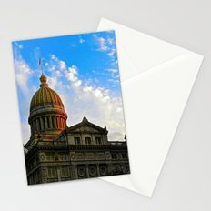 Sunset on the Courthouse Stationery Cards