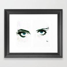 BETTY DAVIS EYES Framed Art Print