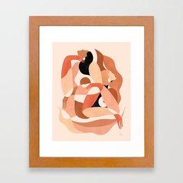 Abstract figures ||| Framed Art Print