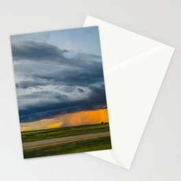 Thunderstorm, McLean County, North Dakota 1 Stationery Cards
