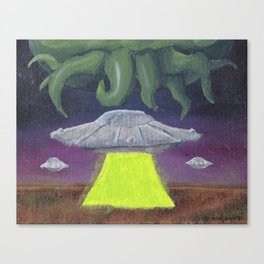 Celestial Terrestrial Canvas Print