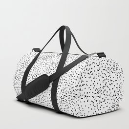 Black and white dots Duffle Bag