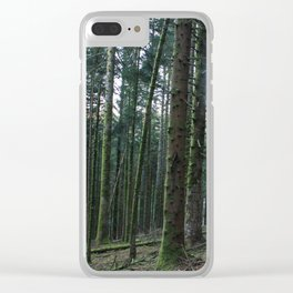 Paysage-F9 Clear iPhone Case