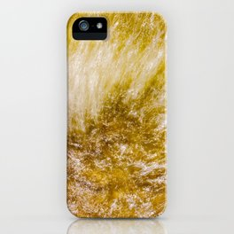 Water flow iPhone Case