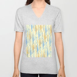 Abstract 37 Unisex V-Neck