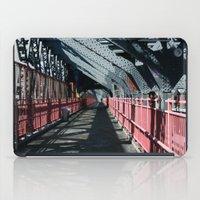 rileigh smirl iPad Cases featuring Williamsburg Bridge by Rileigh Smirl