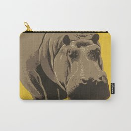 Vintage Visit The Zoo Hippo Carry-All Pouch