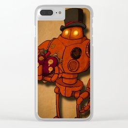 To the One I Love Clear iPhone Case
