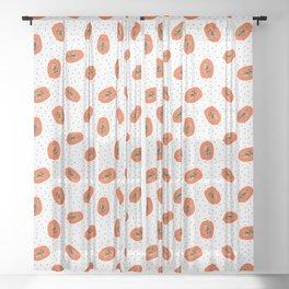 Papaya Sheer Curtain