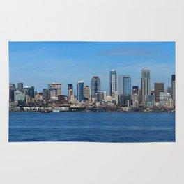 Seattle Panorama Rug
