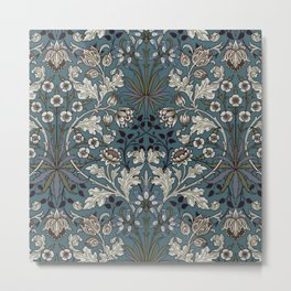 "William Morris ""Hyacinth"" 3. Metal Print"