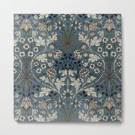 """William Morris """"Hyacinth"""" 3. Metal Print"""