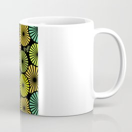 Retro flowers and leaves Coffee Mug