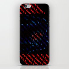 love love love love love love   iPhone & iPod Skin