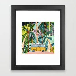 Jungle Camper Framed Art Print