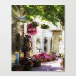 Sausalito Walk Canvas Print