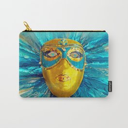 BLUE MASK Carry-All Pouch