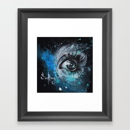 """SeeKing"" Framed Art Print"