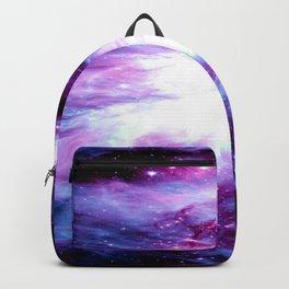 Orion Nebula Purple Periwinkle Blue Galaxy Backpack