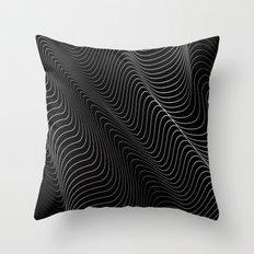 Minimal curves II Throw Pillow