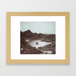 """I don't belong here"" Framed Art Print"
