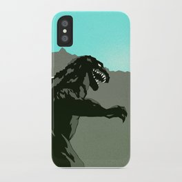 King Kong vs Godzilla iPhone Case