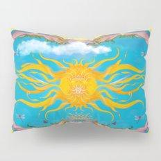 Sun Worship Pillow Sham