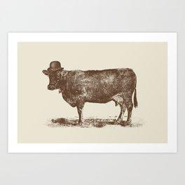 Cow Cow Nut #1 Art Print