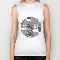 planets Biker Tanks featuring PLANETS by Mari