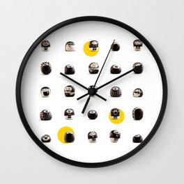 stoneheads 002 Wall Clock