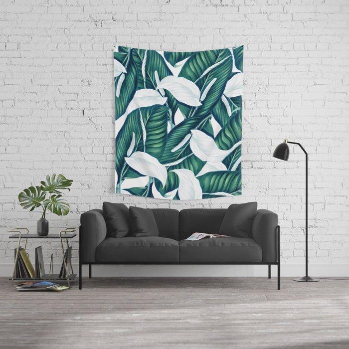 Tropical Winter #society6 #decor #buyart Wall Tapestry