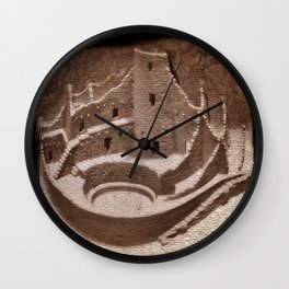 The Cliff Dwellers - Legends Of America Wall Clock