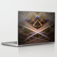 brussels Laptop & iPad Skins featuring rorschach sablon brussels church by KoZtar