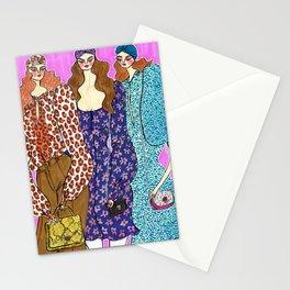 Love in Spade – Fall 2019 – Original Fashion art, Fashion Illustration, Fashion wall art Stationery Cards