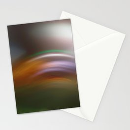 Light Trails in the Dark, Traffic Light Trails, Abstract Traffic Lines Stationery Cards