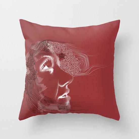 Wisp #1 Throw Pillow