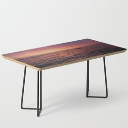 Sunrise Chicago Lake Coffee Table