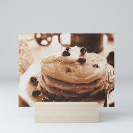 Pancakes from the past Mini Art Print