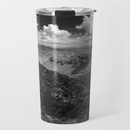 Dramatic Cloudy Mountain View at Lost Mine Trail, Big Bend Travel Mug
