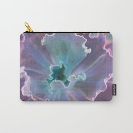 Ruffled Succulent Carry-All Pouch