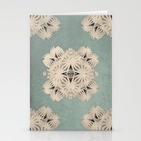 edm Stationery Cards featuring Ancient Calaabachti Filigrane by Obvious Warrior