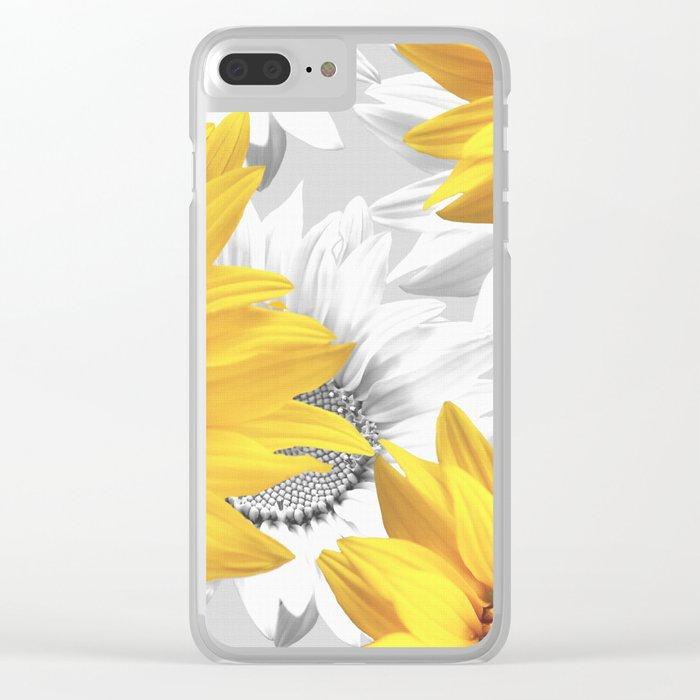 Sunflower Bouquet #decor #society6 #buyart Clear iPhone Case