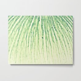 Flow green Metal Print