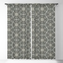 Bach Flower - Pattern 4 Blackout Curtain