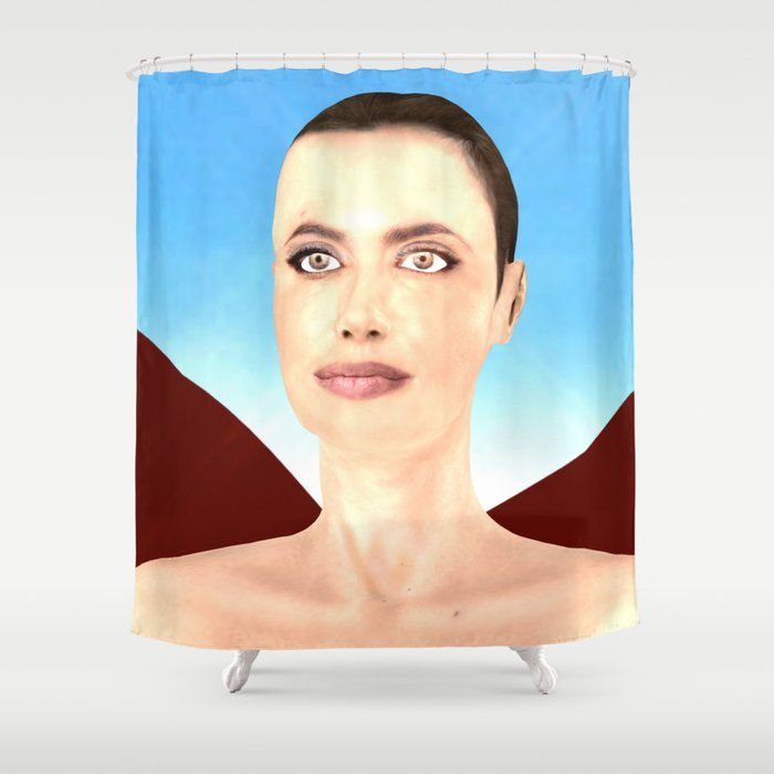 Angel Ina Shower Curtain